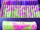 Level 5: Colored Pencil Roll