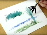 Watercolors: Experiments in Techniques