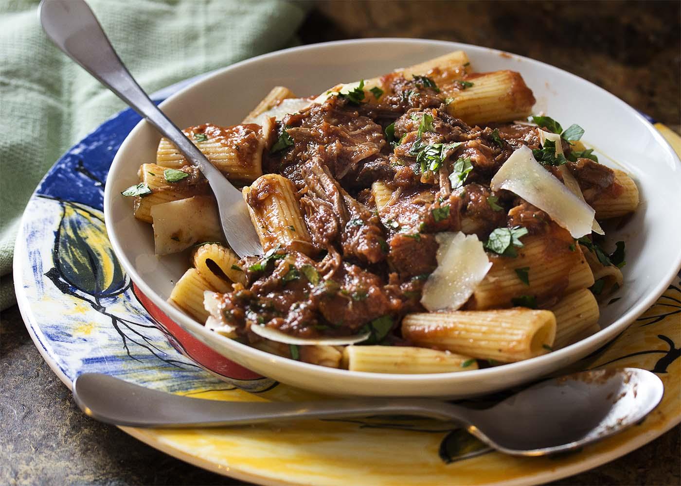 Short Beef Ribs Italian Style