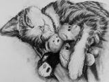 E-04-20 Purr-fect Animal Drawing (6 weeks class)