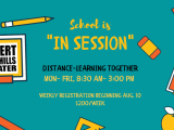 """""""In Session"""" Wk 1- Distance Learning Together: 9/7 - 9/111"""