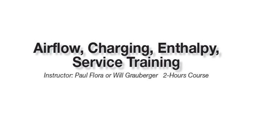 Airflow, Charging, Enthalpy, Service Training - Junction City