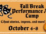 Fall Break Art Alive! Performance Art Camp