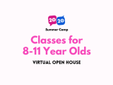 Virtual Open House: Classes for 8-11 Year Olds
