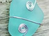 Make a Sea Glass Necklace 10/17