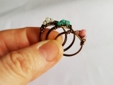Wirework Gemstone Ring