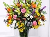 Floral Design: Winter Holiday Arrangement