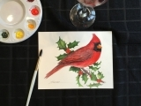 Holiday Watercolor and Wine with Kathy At Fisherman's Dock