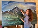 Art: Mixed Media 1 Drawing and Painting