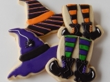 Halloween Sugar Cookies - Edible Art!