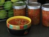 Water Bath Canning - Salsa