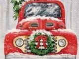 Acrylic Holiday Painting