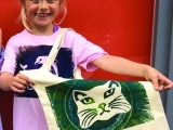 Kids in the Art Studio; 1st Child 10/5