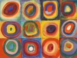 Exploring Shapes in Art: Kandinsky and Concentric Circles
