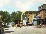 History Walk Down Main Street
