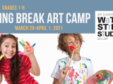 Spring Break Art Camp (grades 4-6) - Online