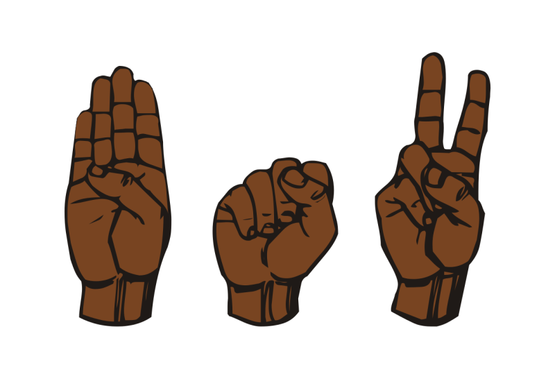 Original source: https://upload.wikimedia.org/wikipedia/commons/thumb/6/60/AmericanSign_Language_BSV.svg/1280px-AmericanSign_Language_BSV.svg.png