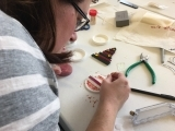 Glass Fusion - Holiday Ornaments Workshop