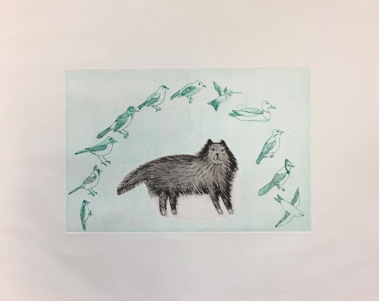 Fun Shaped Dry Point Plates