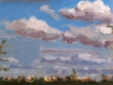Cloud Sky Painting