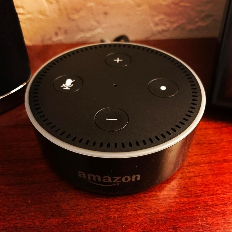Original source: https://upload.wikimedia.org/wikipedia/commons/1/14/Amazon_Echo_Dot_%28black%29_on_a_wood_surface.jpg