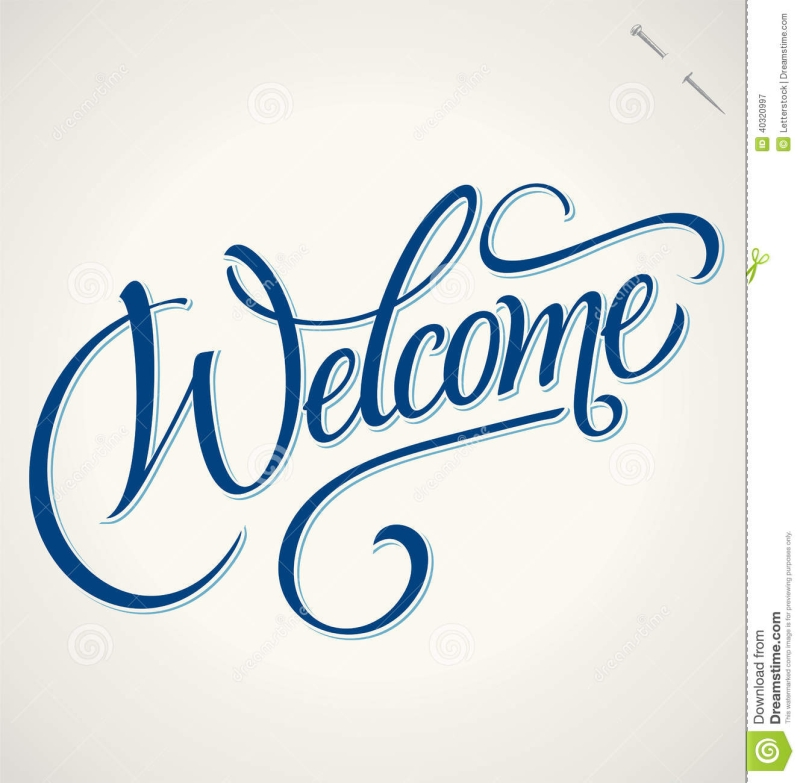 Original source: http://thumbs.dreamstime.com/z/welcome-hand-lettering-vector-handmade-calligraphy-eps-40320997.jpg