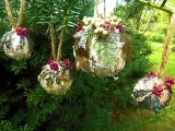 Birch Bark Ornaments or Trees