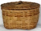 Lidded Sewing Basket
