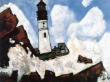 "Art in an Evening: Marsden Hartley ""The Lighthouse"" Sept. 18 Messalonskee F19"