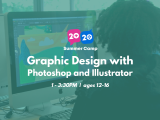 1:00PM | Graphic Design with Photoshop & Illustrator