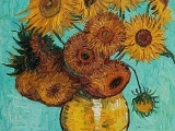 "Art in an Evening: Vincent Van Gogh ""Mashup/Sunflowers"" Nov. 13 Messalonskee F19"