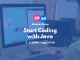1:00PM | Start Coding with Java