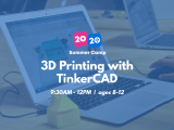 9:30AM | 3D Printing with TinkerCAD