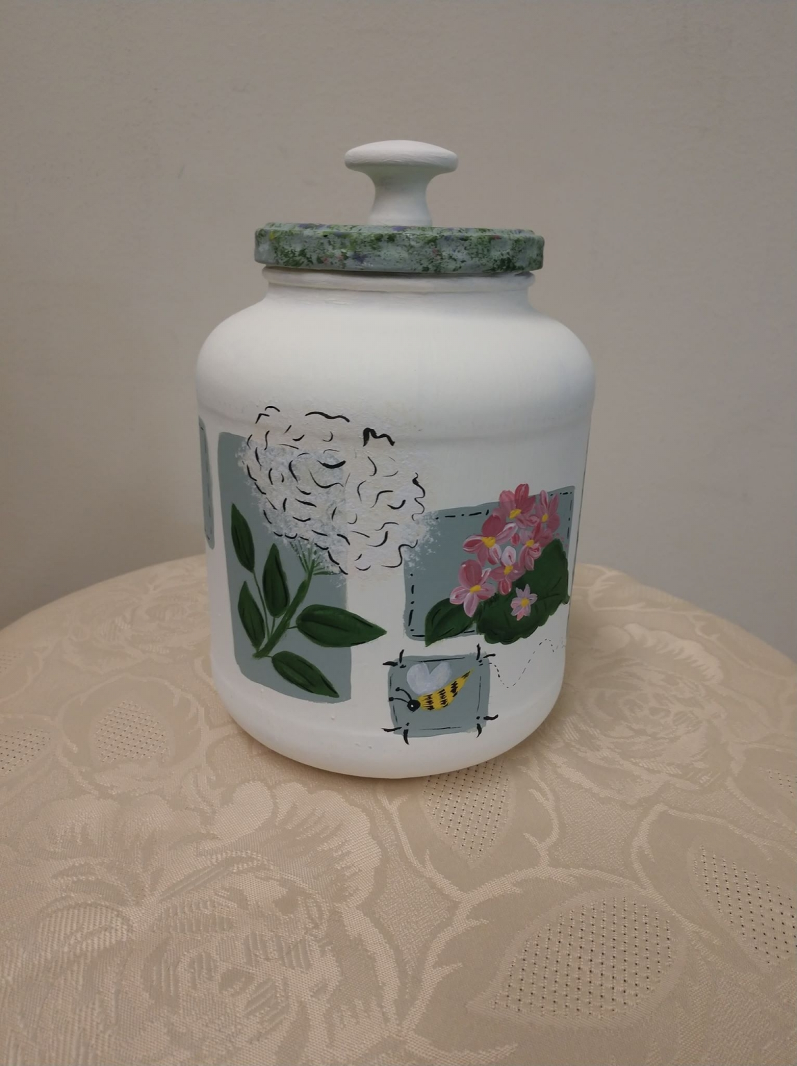 Arts and Crafts with Michelle Nature Sampler Jar Spring 2019