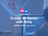 9:30AM | Create 3D Games with Unity