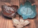 Leaf Impression Bowls