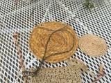 Weaving with Basswood Bark Twine