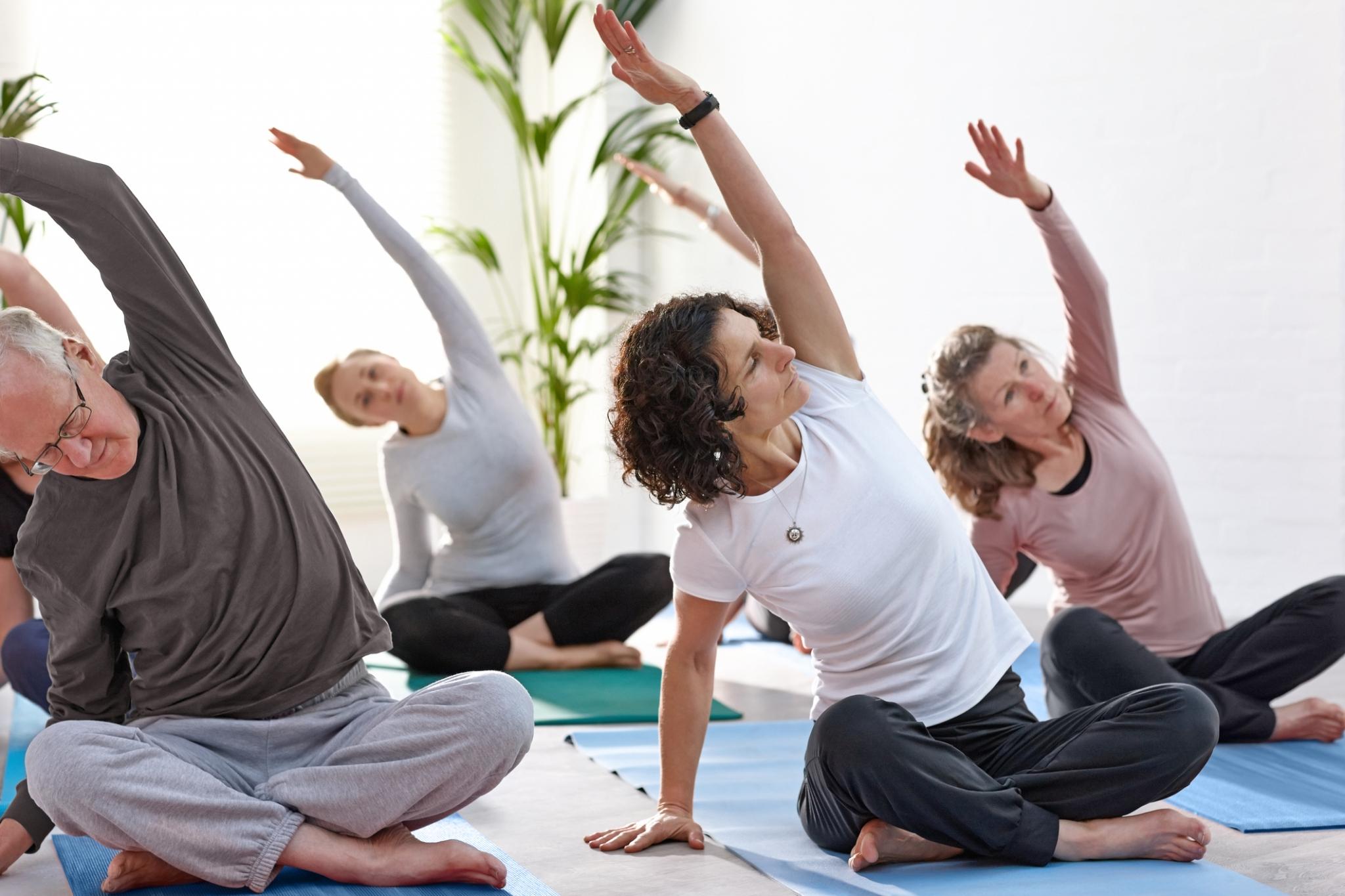 Gentle Yoga Level 2 - TUES TCH
