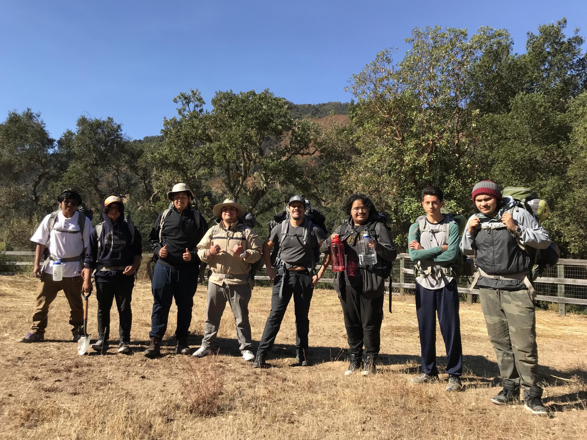 Field Trip: Backpacking Trip