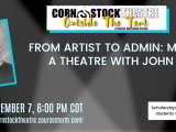 From Artist to Admin: Managing a Theatre with John Stuff
