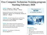 Free Computer Technician Training Program