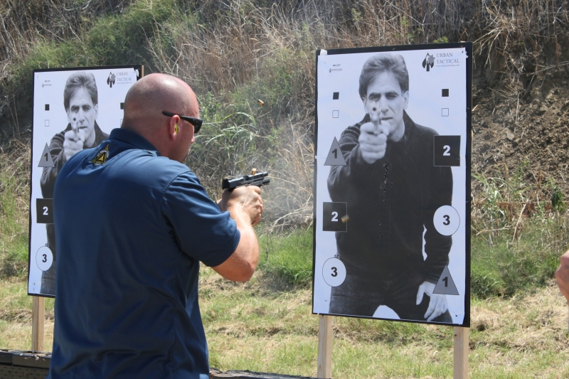 103 – DEFENSIVE HANDGUN CLOSE QUARTERS/ONE-HANDED SURVIVAL SKILL/ SIG  ACADEMY   Shooting-Performance Firearms Training