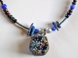 Create a Druzy Agate Necklace