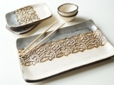 Sushi Serving Tray Set