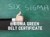 Advanced Six Sigma Green Belt