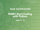 10:00AM | Start Coding with Python