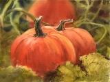 Art in an Evening: The Three Pumpkins,  Messalonskee F17