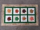 Leaves on a Breeze Wall Quilt