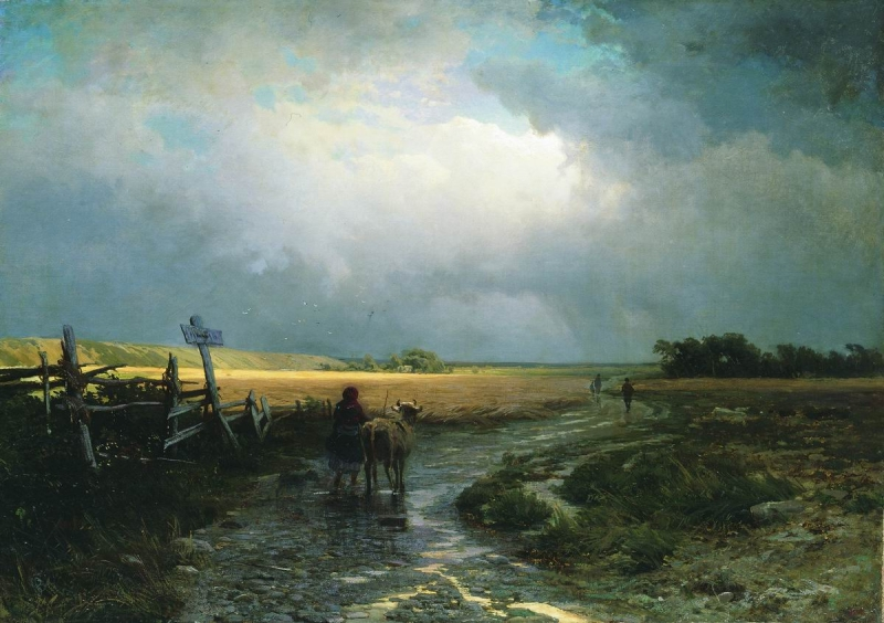 Original source: https://upload.wikimedia.org/wikipedia/commons/f/f7/Feodor_Vasilyev-_After_a_Rain%2C_Country_Road_-_detail.JPG