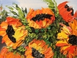 Oil Painting – The Beauty of Flowers